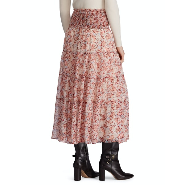 Ralph Lauren Georgette Peasant Skirt