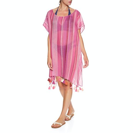 Kaftan Seafolly Inka Gypsy Horizon Stripe Linen