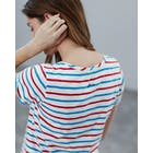 T-Shirt a Manica Corta Donna Joules Nessa Embroidered