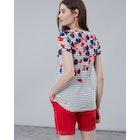 Joules Nessa Print Women's Short Sleeve T-Shirt