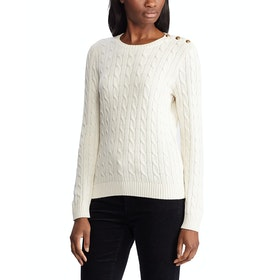Lauren Ralph Lauren Montiva Women's Sweater - Mascarpone Cream