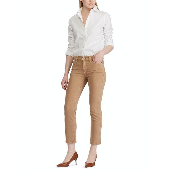 Ralph Lauren Premier Straight Ankle Mid Rise Women's Jeans
