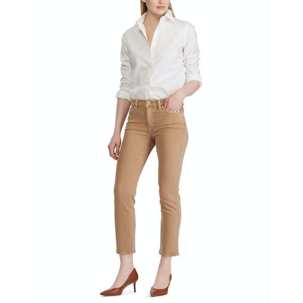 Ralph Lauren Premier Straight Ankle Dames Jeans