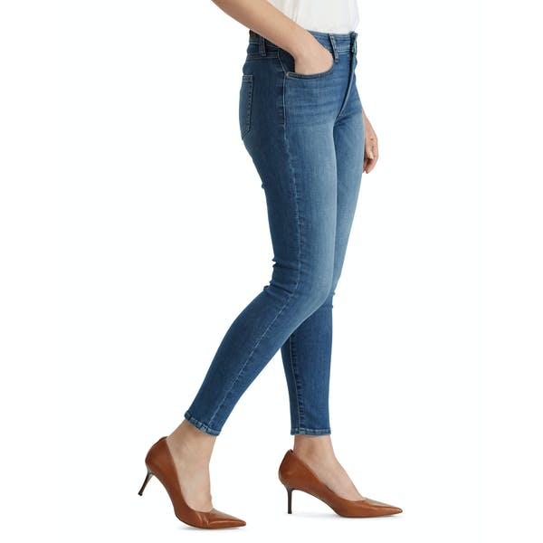 Ralph Lauren Regal Straight Ankle Dames Jeans