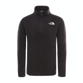 Polaire Enfant North Face Glacier Quarter Zip - Tnf Black Tnf White