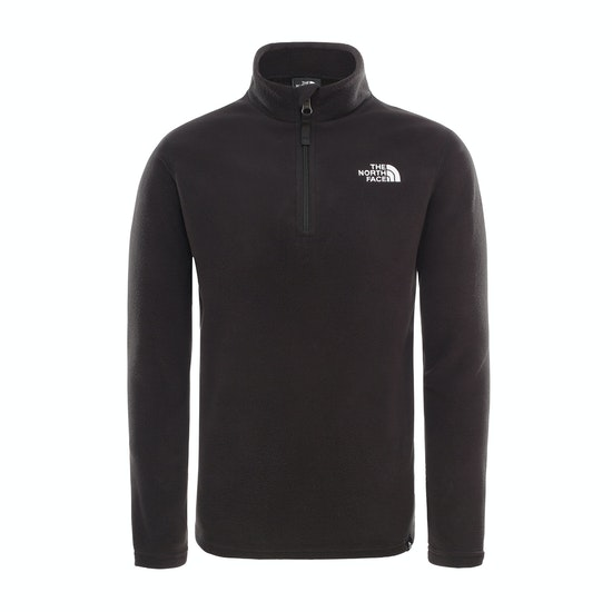North Face Glacier Quarter Zip Kids Fleece