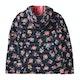 Joules Kinnaird Print Packaway Girls Jacket