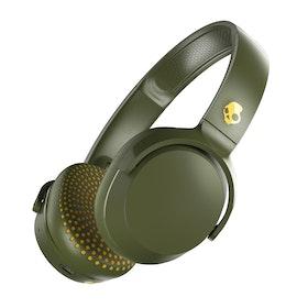 SkullCandy Riff Wireless Headphones - Moss Olive Yellow