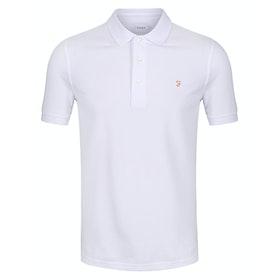 Farah Blanes Men's Polo Shirt - White