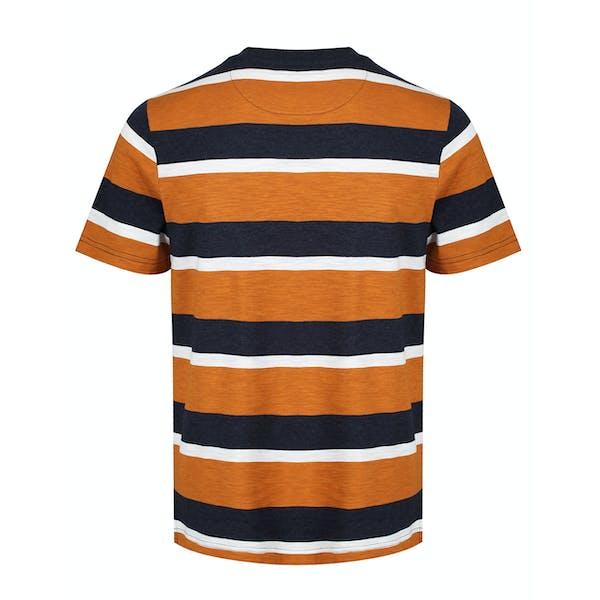 T-Shirt à Manche Courte Farah Celtic Stripe