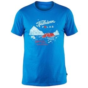T-Shirt à Manche Courte Fjallraven Polar - Uncle Blue