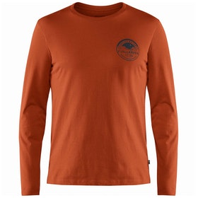 Fjallraven Forever Nature Badge Long Sleeve T-Shirt - Autumn Leaf