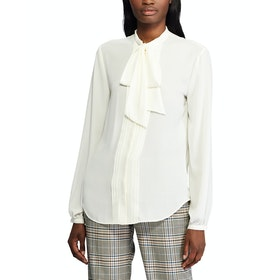 Lauren Ralph Lauren Georgette Women's Shirt - Pale Cream