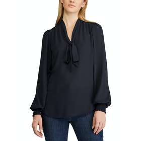 Lauren Ralph Lauren Aleksei Long Sleeve Women's Shirt - Lauren Navy