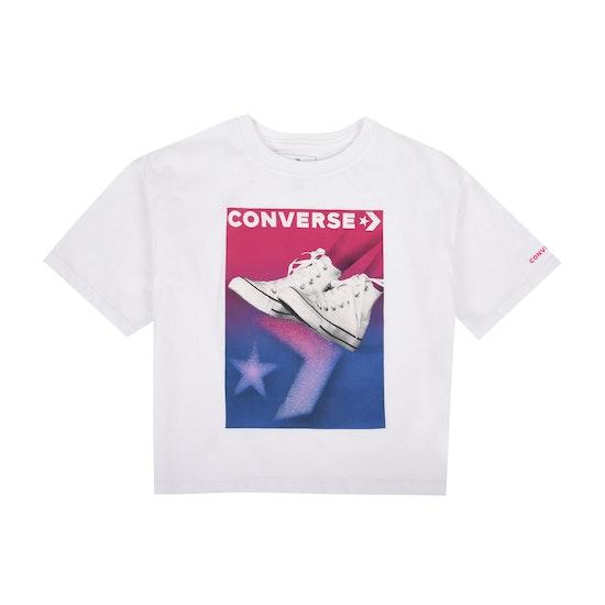 Converse Gradient Chuck Stance Girls Short Sleeve T-Shirt