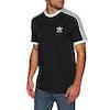 T-Shirt à Manche Courte Adidas Originals 3 Stripes - Black
