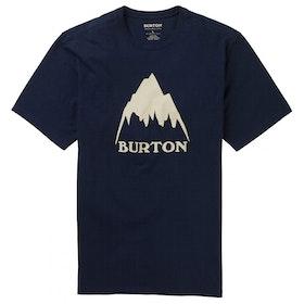 Burton Classic Mountain High T Shirt - Dress Blue