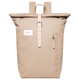 Sandqvist Dante Rucksack - Beige With Natural Leather