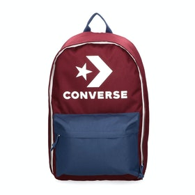 Converse Edc 22 Backpack - Dark Burgundy Navy