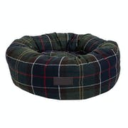 Barbour Small Donut Dog Bed