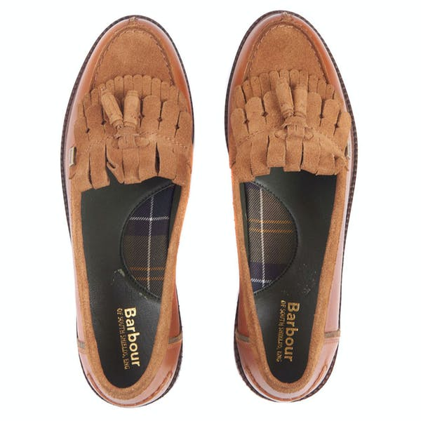 Barbour Olivia Tassel Loafers Dress Shoes
