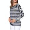 Top Femme Joules Harbour Jersey - Navy Cream Stripe
