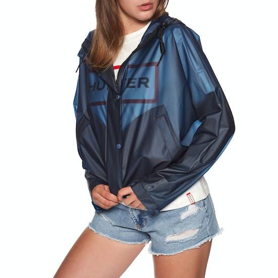 Hunter Original Vinyl Crop Smock Womens Jacket