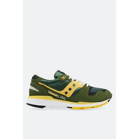 Saucony Azura Shoes - Green Yellow