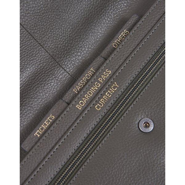 Barbour Leather Travel Organiser Women's Document Holder