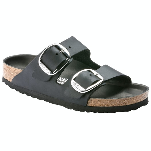 Birkenstock Arizona Big Buckle Waxy Leather Sandals