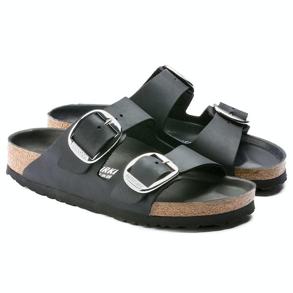 Sandálias Birkenstock Arizona Big Buckle Waxy Leather
