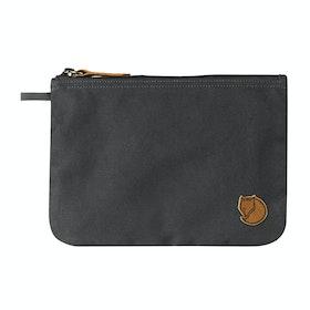 Fjallraven Gear Pocket Wash Bag - Dark Grey