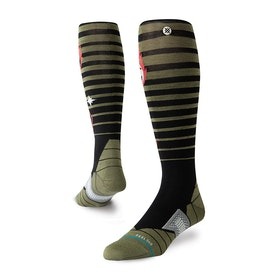 Stance Double Diamond Snow Socks - Black