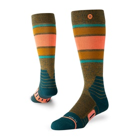 Stance Heroine Womens Snow Socks - Khaki