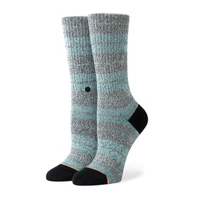 Stance Punked Crew Womens Socks - Green