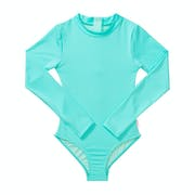 Seafolly Summer Essential L/s Surf Tank Girls Swimsuit