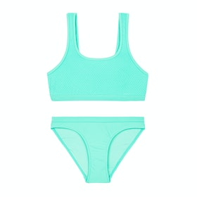 Bikini Seafolly Summer Essential 80's Tankini - Opal