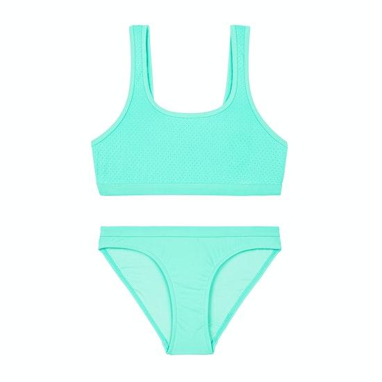 Biquini Girls Seafolly Summer Essential 80's Tankini