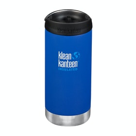 Klean Kanteen Tkwide 355ml (w/café Cap) Flask - Deep Surf