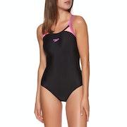 Speedo Thinstrap Racerback Womens Swimsuit