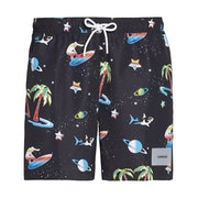 Calvin Klein Medium Drawstring Print Swim Shorts