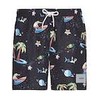 Calvin Klein Medium Drawstring Print Swim Shorts
