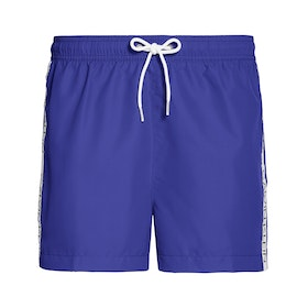 Calvin Klein Short Drawstring Swim Shorts - Clematis Blue