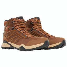 North Face Hedgehog Hike II Mid GTX Boots - Timber Tan India Ink