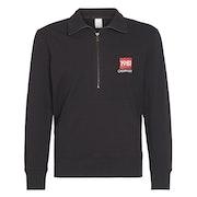 Calvin Klein Half Zip Sweatshirt Loungewear Tops
