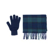 Barbour Gift Box Scarf And Gloves