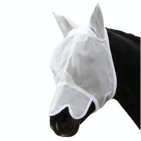 Masque anti-mouches Weatherbeeta with Nose - White