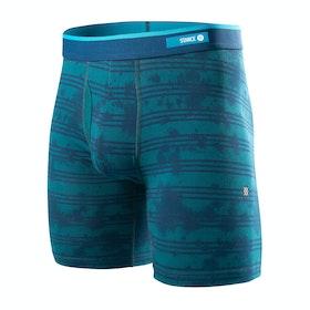 Stance Back Burner Bb Boxer Shorts - Green
