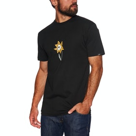 Vans Skull Flower Short Sleeve T-Shirt - Black