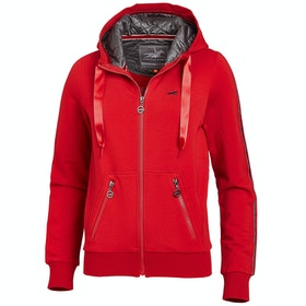 Schockemöhle Cassie Ladies Zip Hoody - Cherry